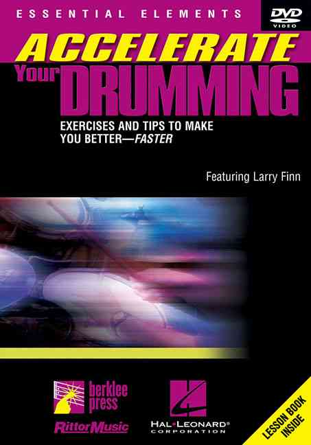 ACCELERATE YOUR DRUMMING BY FINN,LARRY (DVD)